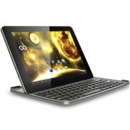 GOCLEVER TAB ORION 101 Graphite with Bluetooth Keyboard-Stand-Cover with Battery/ 10.1&quot; IPS 10 Point Multi-Touch 1280x800/ Quad Core 1GHz, 2GB RAM, 16GB Flash/ Android 4.1 Jelly Bean/ Wi-Fi, Bluetooth 4.0/ 2 x Camera (0.3MP Front, 2MP Back)/ MicroSD, miniHDMI, microUSB OTG/ Stereo Speakers