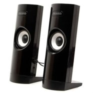 Microlab B-18 2.0 Speakers/ 3W RMS (1,5W+1,5W)/ Headphone jack/ USB Powered