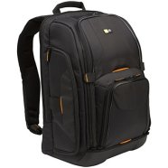 Case Logic SLRC206 SLR Camera/Laptop Backpack/ Nylon Woven/ Black/ For (31.0 x 22.5 x 47.5cm)