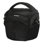 Vanguard 2GO 15 Shoulder Bag / Unique cushioned bottom / Large and ergonomic main access / Front pocket for lens cap and accessories / Water bottle holder on side / Belt loop