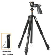 Vanguard ALTA+ 263AGH Tripod + Head / Ultra lightweight / Enables extreme low-angle photography / Legs adjust to 25, 50 and 80-degree angles / Ball head enables single-handed, comfortable operation