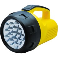 Camelion FL-16LED 16 x LED Multi-Head Searchlamp, Intensity: 1850 mcd, Visible distance: up to 150 m, Uses 1 x 4R25 or 4 x mono battery, Battery adaptor for 4 x R20 batteries included (without batteries)