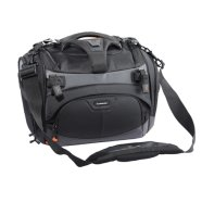 "Vanguard XCENIOR 36 shoulder bag/ Polyester/ For 1-2 pro DSLRs with grip plus 6-8 lenses(up to 70-200mm f/2.8), a flash unit, accessories (memory cards, cables, battery and charger), a laptop up to 14"" wide screen size, tripod"