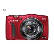 Fujifilm FinePix F770EXR red, 16.0Mpixels/ Fujinon 20x optical zoom lens/ EXR CMOS /  3.0'' LCD/ Face Detection/ ISO 12800/  Support: SD/SDHC/SDXCmemory card /  Li-ion batt.