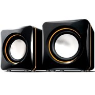 S-004 2.0 Speakers/ 6W (3W+3W)/ 600W P.M.P.O/ USB Powered/ Black