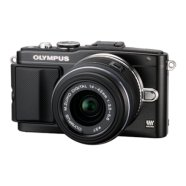 "Olympus E-PL5 Black +M.ZUIKO DIGITAL 14-42mm 1:3.5-5.6 II R Black, 16.1Mpixels,  Live View, 3.0"" Tiltable LCD - Touch Panel,  Li-Ion batt., HDMI, Media: SD/SDHC/SDXC"