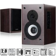 Microlab B-72 2.0 Speakers/ 24W RMS (12W+12W)