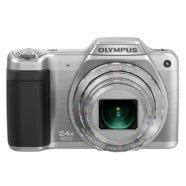 "Olympus SZ-15 Silver, 14.0MPixels, 24x wide optical zoom, Dual IS, 10 fps, 3.0"" LCD, HD Movie 720p, 3D photos, Panorama, HDMI, Li-Ion batt., SD/SDHC/SDXC, Metal body"