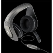 "CM Storm ""Sonuz"" Gaming Headset,  10 - 20,000 Hz, Impedance: 45 Ω at 1kHz, Sensitivity: 98 dB +/- 3dB at 1 kHzMax,  drivers 53 mm, Cable 2m"