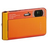 Sony DSC TX30 Orange/ Cyber-shot T Series/ Water, dust, freeze and shock proof