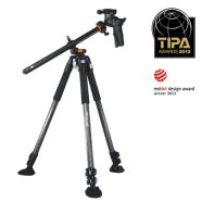 Vanguard ABEO PRO 283CGH Tripod (Carbon) with GH-300T head / 28mm tubular, 3-sec., Extended: 1715mm  ; Folded: 765mm / Black/ Max. loading 8 kg/ Weight 3.05 kg