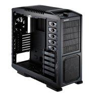 Cooler Master Storm Sniper, Midl tower,pure black, with USB 2.0 x4/ eSATA x1/ Firewire, black inside,  w/o PSU, mATX / ATX