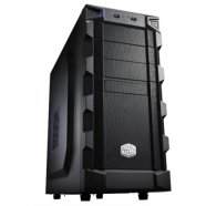 Cooler Master K(night) 280 Midl tower, USB 3.0 ,  black w/o PSU, mATX / ATX