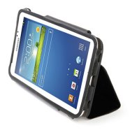 "Tucano Leggero folio case for Samsung Galaxy Tab 3 8"" (Black) / leather-like PU"
