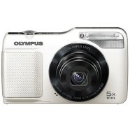 "Olympus VG-170 White, 14.0MPixels, 5x wide optical zoom, Digital IS, 3.0"" LCD, HD movie, iAUTO, 3D photo, Li-Ion batt., SD/SDHC/SDXC"