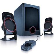 Microlab M-111 2.1 Speakers/ 13W RMS (3Wx2+7W)/ wired Remote Control with MP3 input & Headphone output