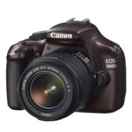 "Canon EOS 1100D brown + 18-55 IS II, 12.2Mpixel/ 3 fps/ DIGIC 4/ 9-point wide-area AF/ 2.7"" LCD with Live view/ HD video/ ISO 100-6400/ SD/SDHC/SDXC card slot/ Li-ion Batt."