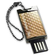 SILICON POWER 16GB, USB 2.0 FLASH DRIVE TOUCH 851, GOLD