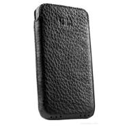 SENA CASES Ultraslim real leather case for iPhone 4/4S (Black)