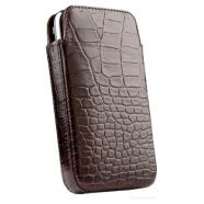 SENA CASES Elega Real Leather case for Nokia C7 Astound (Croco Tan)
