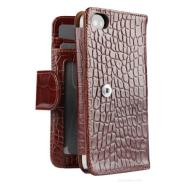 SENA CASES WalletBook for iPhone 4/4S (Croco Tan)