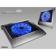 "Enermax notebook cooler Aeolus Premium up to 17"" nb, 1x250mm fan, grey"