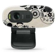 Logitech Webcam C270, USB, HD 720p video, 3MP photos, INK GEARS