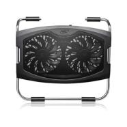 "Deepcool Notebook cooler N2000IV up to 15.4"" nb, 2x140mm fan"