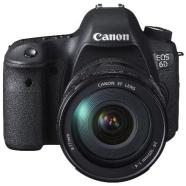 "Canon EOS 6D 24-105 IS, 20.2Mpixel/  DIGIC 5/ 11-point AF/ 3.0"" LCD with Live view/ Full-HD movie/ ISO 25600-102400/ WiFi/ GPS/ SD/SDHC/SDXC card slot/ Li-ion Batt."
