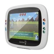 GOCLEVER TAB GENIUS 7 with Parental and Children Interfaces/ 7&quot; Capacitive 800x400/ Cortex A8 1GHz/ Android 4 ICS/ Wi-Fi/ 2 x Camera (0.3MP Front, 2MP Back)/ 512 DDR3 + 4GB + MicroSD Slot/ microUSB 2.0/ Google Play/ English, Russian, Polish languages