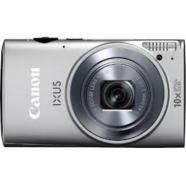 "Canon Digital IXUS 255 HS Silver, 12.1Mpixel BSI-CMOS/ DIGIC 5/ 24mm wide/ 10x optical zoom/ Intelligent IS/ ISO 3200/ 3.0"" PureColor II G LCD/ Full HD, HDMI/ High-speed shooting/ Supports SD/SDHC/SDXC/  Li-ion Batt."