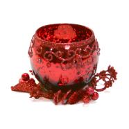 Küünlaalus GIFT BALL, H9.5cm, mix