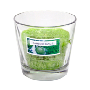 Klaasküünal PALM D8.8x8.1cm, roheline