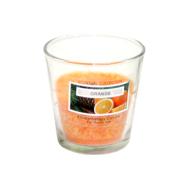 Klaasküünal PALM D7.5x7.7cm, oranz