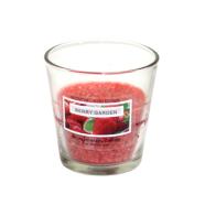Klaasküünal PALM D7.5x7.7cm, punane