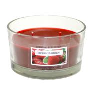 Klaasküünal SOHO D10.6x6.2cm, punane
