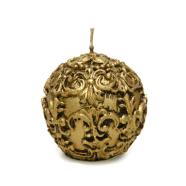 Küünal LILY pall D7.6cm, antiik kuld
