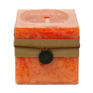 Küünal ECOWICK 10x10xH10cm, oranz