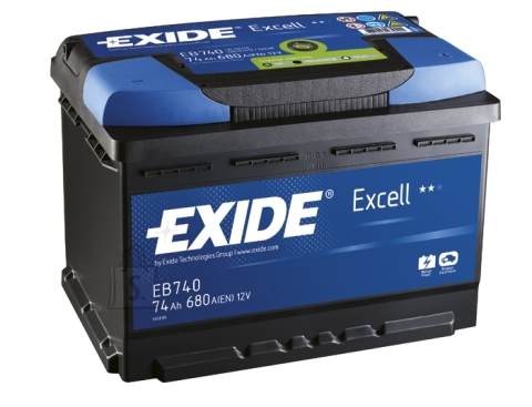 Aku Excell 74Ah 680A 278x175x190 -+