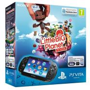 PlayStation Vita + Little Big Planet, Sony / 4 GB, 3G & Wi-Fi