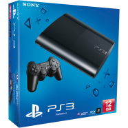 Mängukonsool PlayStation 3 Ultra Slim (12 GB), Sony